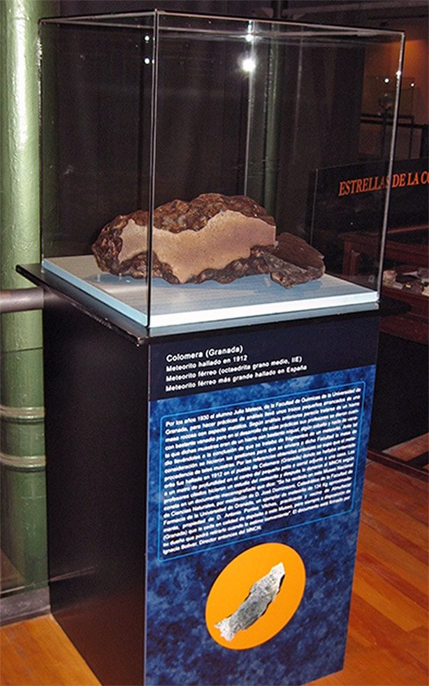 Spanish meteorites exhibition