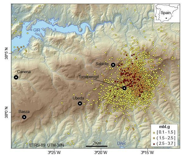Seismic epicenters 2012-2014